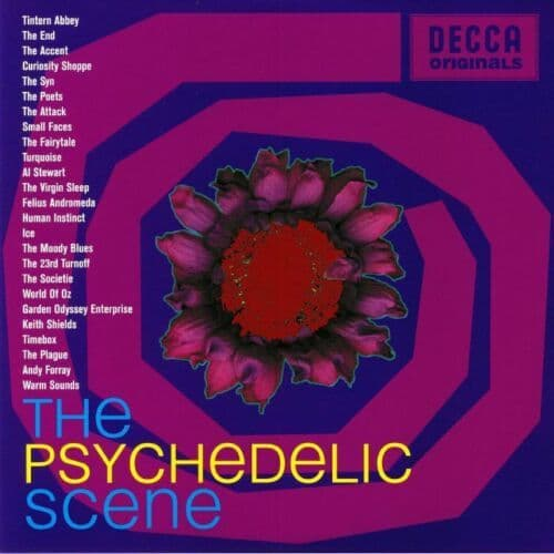 Various<br>The Psychedelic Scene<br>2LP, Comp, Ltd, RE